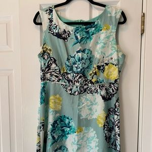 JCrew 100% Silk Patterned Dress